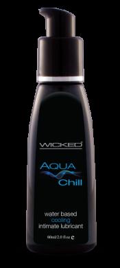Wicked Aqua Chill Lubricant 2 Oz – WIC019