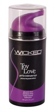 Wicked Toy Love Gel For Toys 3.3oz – WIC017