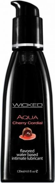Wicked Aqua Cherry Cordial Flavored Lubricant 4oz – WIC023