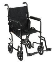 Wheelchair Transport Lightweight Blue 19 – 10950D
