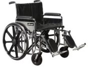 Bariatric Wheelchair  Rem Desk S/A Footrests  22  Wide – 10959C-SF