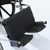 Leg Rest Pad for Wheelchairs Navy  16 w X 9 h – 1542
