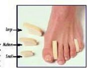 Toe Separator Large Bx/12 – 5155C
