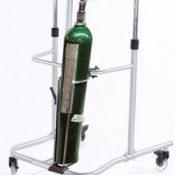 Portable Oxygen Carrier for D & E Tanks for Eva Walker – 83617