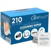 Lens Screen Cleaning Wipes  Pre Moistened  Bx/210 – CTLW210