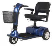 CompanionTM II 3-Wheel Elec Scooter Arctic Blue Full-Size – GC340AB