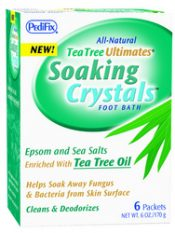 Tea Tree Ultimates Soothing Crystals 1 oz packets 6/Pkg – P3078