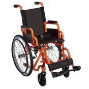 Ziggo Wheelchair Lightweight Folding  12   Orange – ZG1200